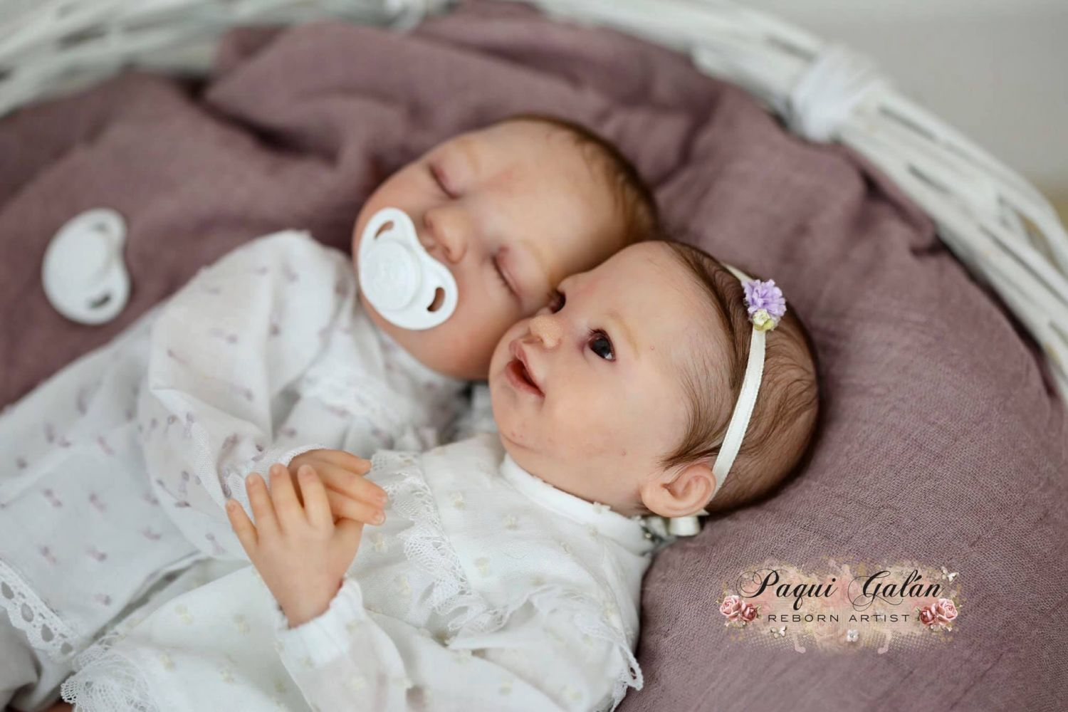 reborn kit twins Xan and Lua by Melody hess