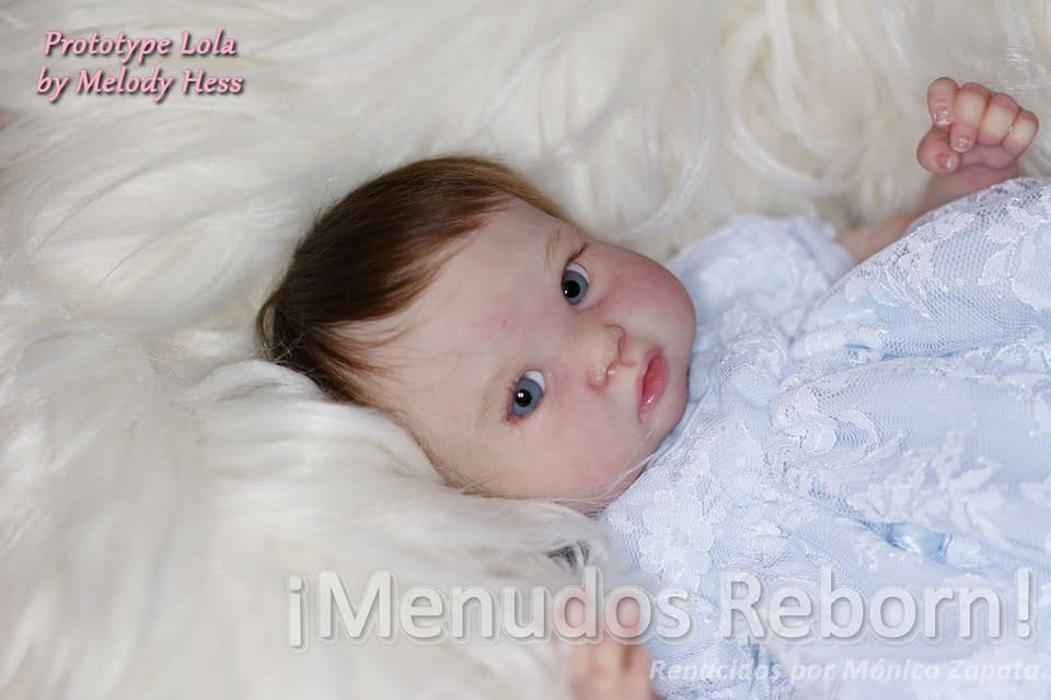reborn kit twins Maria and Lola by Melody hess